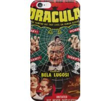 Dracula - 1931 - Bela Lugosi iPhone Case/Skin
