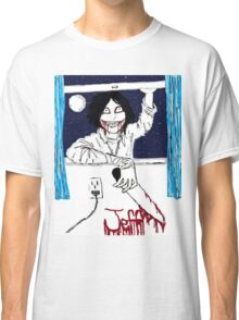 Jeff the Killer: Nighty-Night! Classic T-Shirt