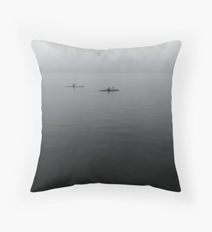 Thames Morning Throw Pillow