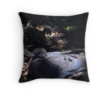 Comfy Dove Throw Pillow