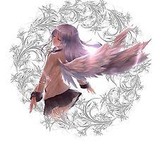Angel Beats - Kanade Tachibana by IzayaUke