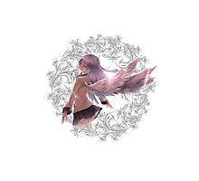 Angel Beats - Kanade Tachibana Photographic Print