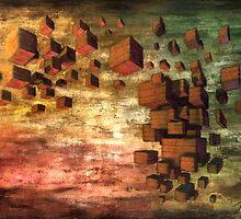 Wooden Blocks by Jonathan Calsolaro