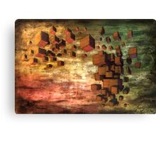 Wooden Blocks Canvas Print
