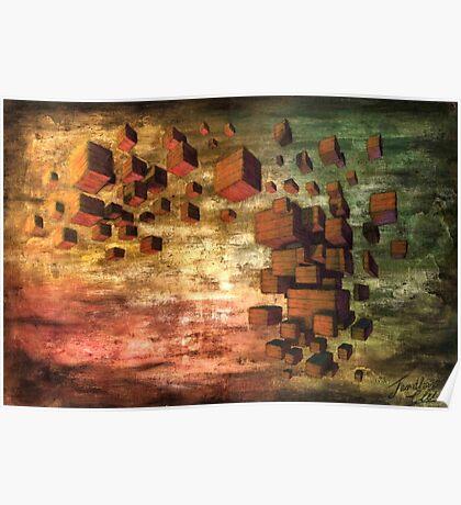 Wooden Blocks Poster