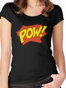 POW! Women's Fitted Scoop T-Shirt