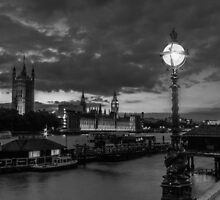 London without colour by Mark  Nangle