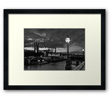 London without colour Framed Print