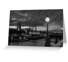 London without colour Greeting Card
