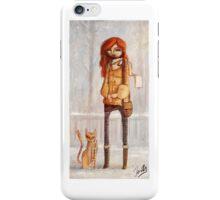 Winter Gal iPhone Case/Skin