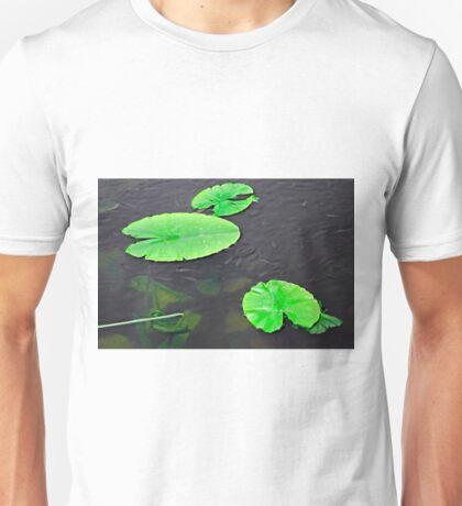 Baby Fish Swimming Around the Lily Pads Unisex T-Shirt