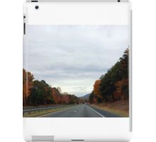 On the Road In North Carolina iPad Case/Skin