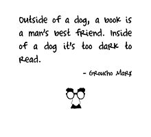 Groucho on books by Fiona Doyle