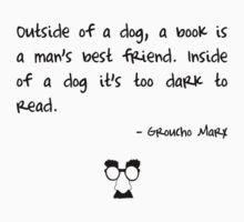 Groucho on books T-Shirt