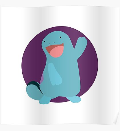 Quagsire - 2nd Gen Poster