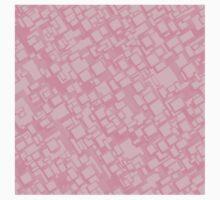 Vintage pink rectangle pattern Kids Clothes