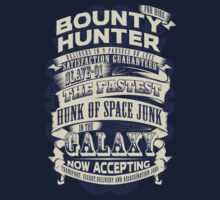 Space Bounty Hunter For Hire T-Shirt