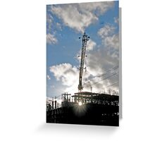 Sunrise on the Site Greeting Card
