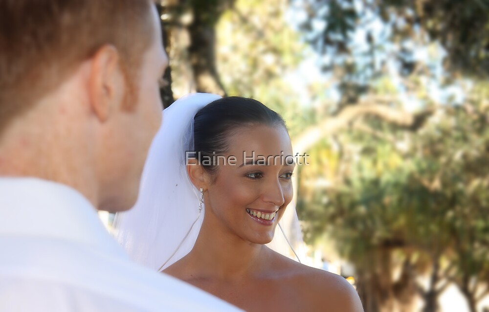And She Smiles by Elaine Harriott