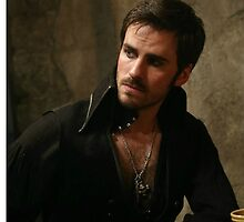 Killian Jones aka Captain Hook by queenavox