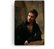 Killian Jones aka Captain Hook Canvas Print