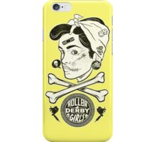Zombie Roller Derby Girls iPhone Case/Skin