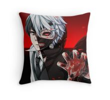 Kaneki One Eye Throw Pillow