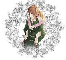 Angel Beats - Yuzuru [Young Version] & Hatsune Otonashi by IzayaUke