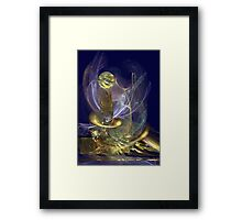 The Fire of Faith Framed Print