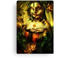 Ghost Portrait Nr. 3 - Maddalena Doni Canvas Print