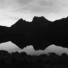 Cradle Mountain B&W by Fiona Kersey
