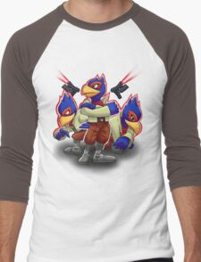 Falco Victory Pose T-Shirt Men's Baseball ¾ T-Shirt