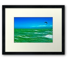 Lost at Sea? Framed Print