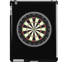 Dart Board, Darts, Arrows, Target, Bulls eye, Pub game, on Black iPad Case/Skin