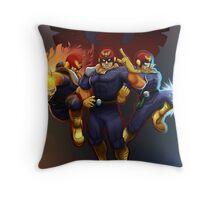 Show Me Your Moves, Captain Falcon!  Throw Pillow