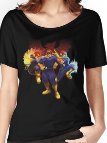 Show Me Your Moves, Captain Falcon!  Women's Relaxed Fit T-Shirt