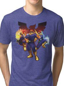 Show Me Your Moves, Captain Falcon!  Tri-blend T-Shirt