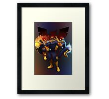 Show Me Your Moves, Captain Falcon!  Framed Print