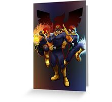 Show Me Your Moves, Captain Falcon!  Greeting Card