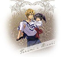 Kaichou wa Maid-Sama - Takumi x Misaki by IzayaUke