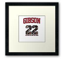 Chicago Bulls NBA - Taj Gibson v1.0 Framed Print