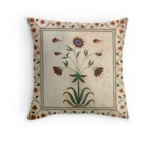 Hard Work, Beautiful Results Throw Pillow