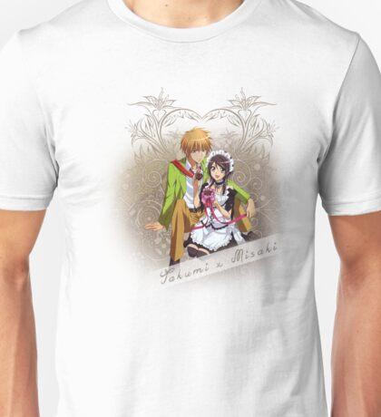 Kaichou wa Maid-Sama - Takumi x Misaki² Unisex T-Shirt