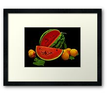 Taste of Summer Framed Print