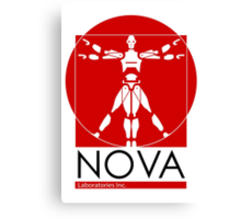 Welcome to Nova Laboratories Canvas Print
