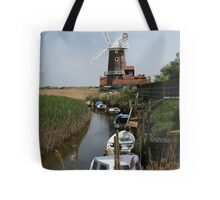 River Glaven and Cley Windmill  Tote Bag