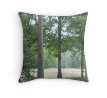 Keith Hills Country Club Throw Pillow