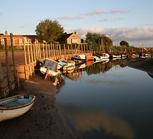 Sunrise at Blakeney Harbour by cappa