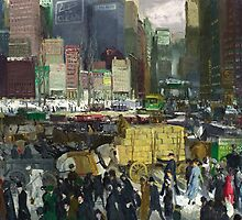 New York - George Bellows by BravuraMedia