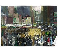 New York - George Bellows Poster